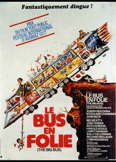 BIG BUS (THE) movie poster