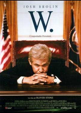 affiche du film W
