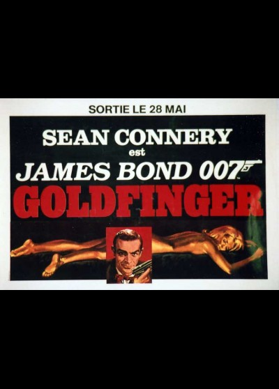 GOLDFINGER movie poster