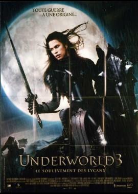 affiche du film UNDERWORLD 3 LE SOULEVEMENT DES LYCANS