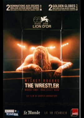 WRESTLER (THE) movie poster