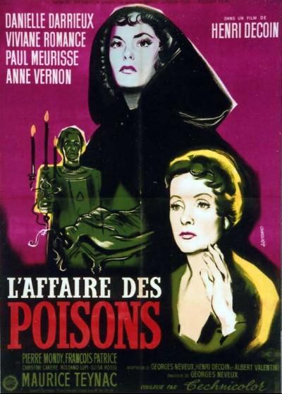 affiche du film AFFAIRE DES POISONS (L')