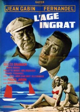 affiche du film AGE INGRAT (')