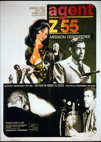 affiche du film AGENT Z 55 MISSION DESESPEREE