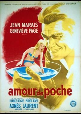 affiche du film AMOUR DE POCHE