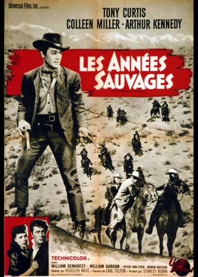 affiche du film ANNEES SAUVAGES (LES)