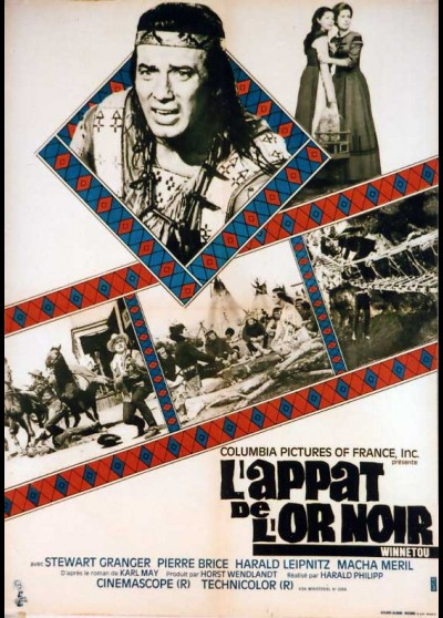 affiche du film APPAT DE L'OR NOIR (L')