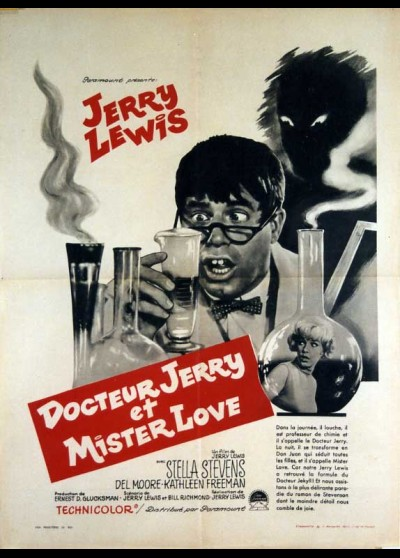 NUTTY PROFESSOR (THE) movie poster