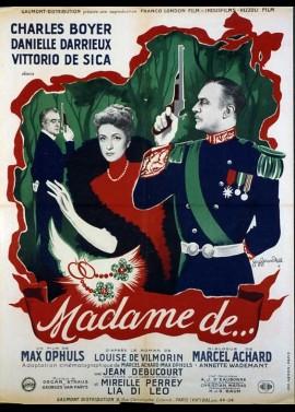 affiche du film MADAME DE