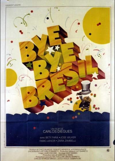 affiche du film BYE BYE BRESIL