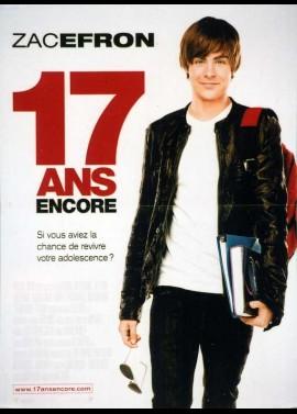 17 AGAIN / SEVENTEEN AGAIN movie poster