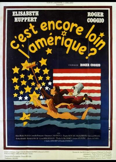 affiche du film C'EST ENCORE LOIN L'AMERIQUE