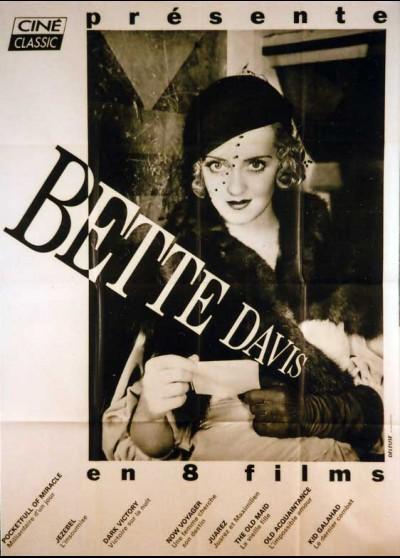 affiche du film BETTE DAVIS EN 8 FILMS