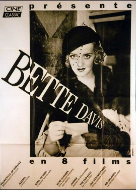 affiche du film BETTE DAVIS EN 8 FILMS