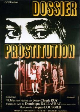 DOSSIER PROSTITUTION movie poster