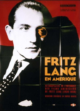 FRITZ LANG EN AMERIQUE movie poster