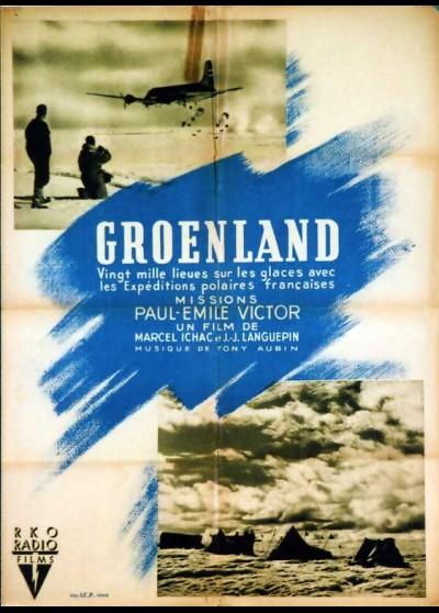 affiche du film GROENLAND