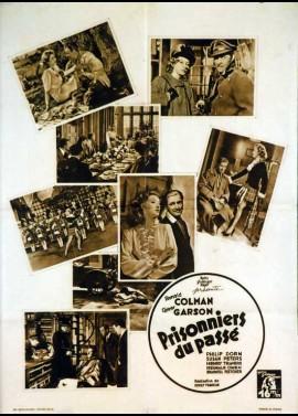 affiche du film PRISONNIERS DU PASSE
