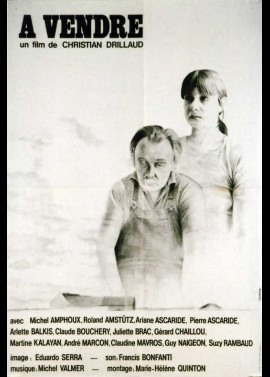 A VENDRE movie poster