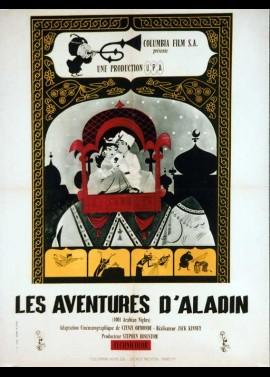 affiche du film AVENTURES D'ALADIN (LES)