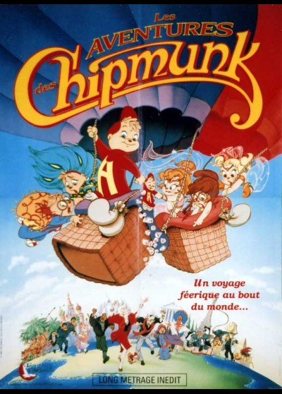 CHIPMUNKS ADVENTURE (THE) movie poster