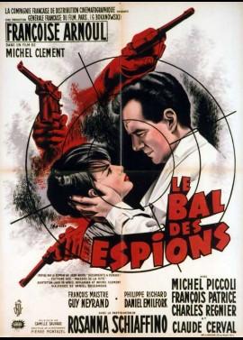 BAL DES ESPIONS (LE) movie poster