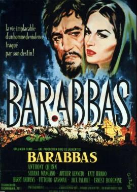 BARABBA movie poster