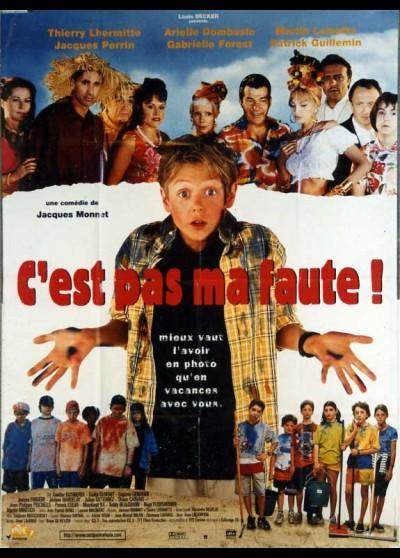 C'EST PAS MA FAUTE movie poster