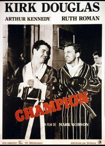CHAMPION movie poster