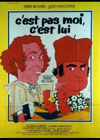 affiche du film C'EST PAS MOI C'EST LUI