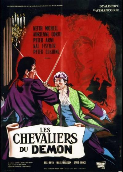 affiche du film CHEVALIERS DU DEMON (LES)