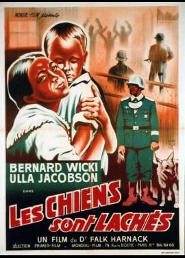 affiche du film CHIENS SONT LACHES (LES)