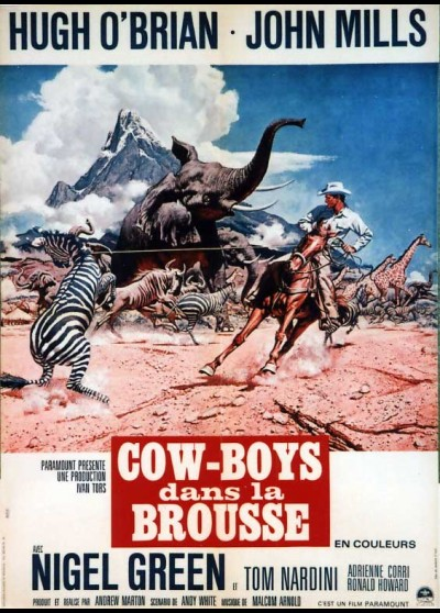 AFRICA TEXAS STYLE movie poster