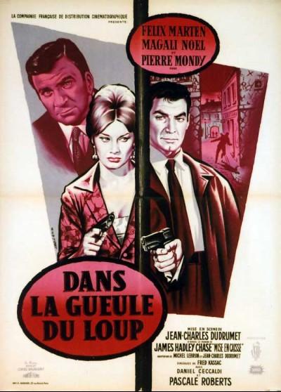 DANS LA GUEULE DU LOUP movie poster