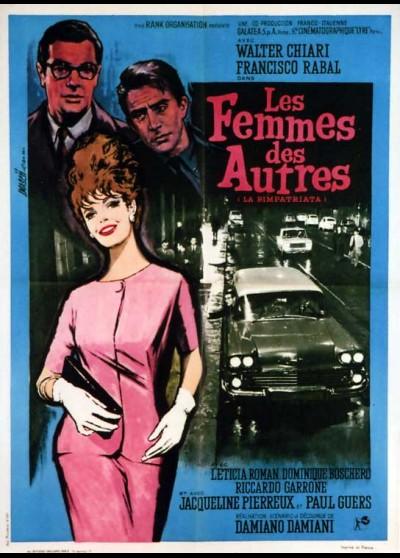 affiche du film FEMMES DES AUTRES (LES)