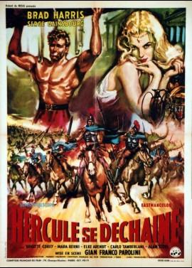 affiche du film HERCULE SE DECHAINE