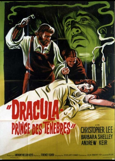 DRACULA PRINCE OF DARKNESS movie poster
