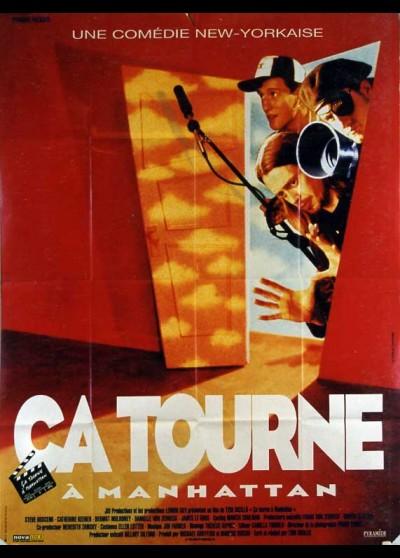 affiche du film CA TOURNE A MANHATTAN