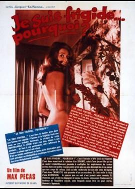 JE SUIS FRIGIDE POURQUOI movie poster