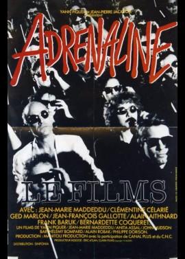 affiche du film ADRENALINE
