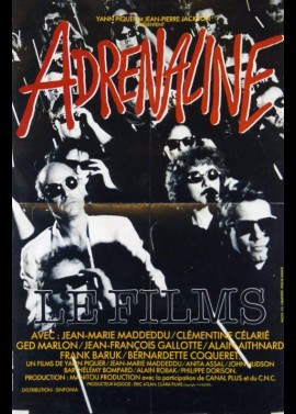 ADRENALINE movie poster