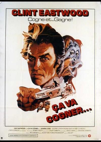 affiche du film CA VA COGNER