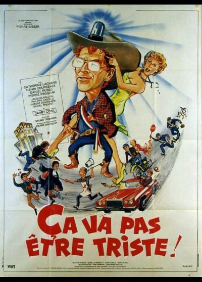 CA VA PAS ETRE TRISTE movie poster