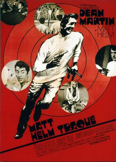 affiche du film MATT HELM TRAQUE