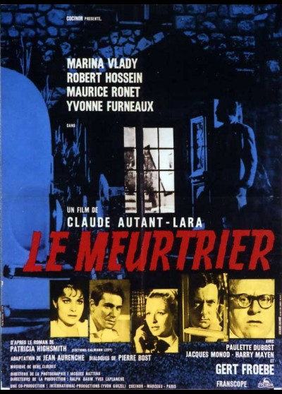 MEURTRIER (LE) movie poster