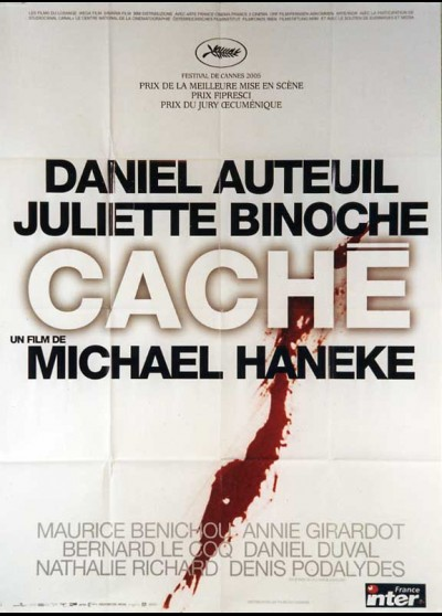 affiche du film CACHE