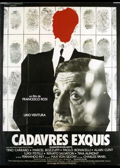 affiche du film CADAVRES EXQUIS