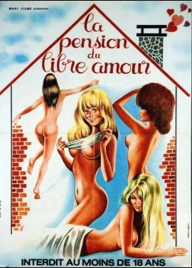 PENSION DU LIBRE AMOUR (LA) movie poster