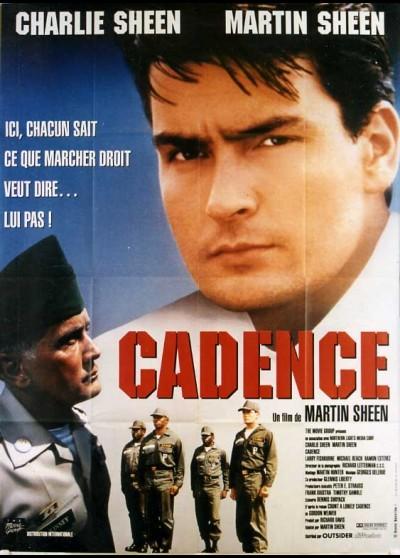 affiche du film CADENCE