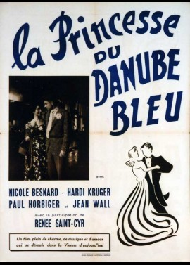 affiche du film PRINCESSE DU DANUBE BLEU (LA)